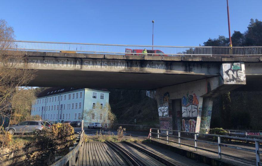Opravy mostů Blansko